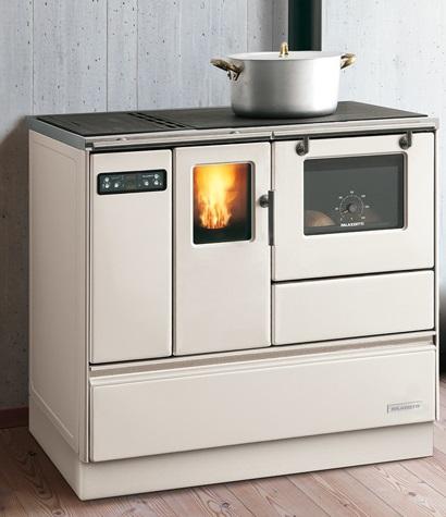 Termocucina idro a pellet palazzetti ornella pisa lucca - Cucina a pellet con forno ...