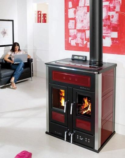 Offerte termostufe caldaie termocamini a pellet prezzi - Termostufa combinata legna pellet ...