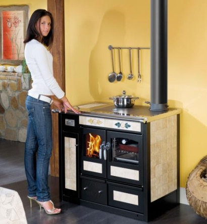 Termocucina con forno a legna da ardere klover pisa lucca - Termocucina a legna ...