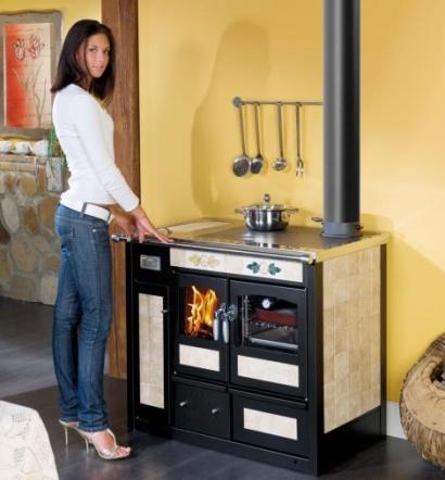 Termocucina con forno a legna da ardere KLOVER pisa lucca livorno